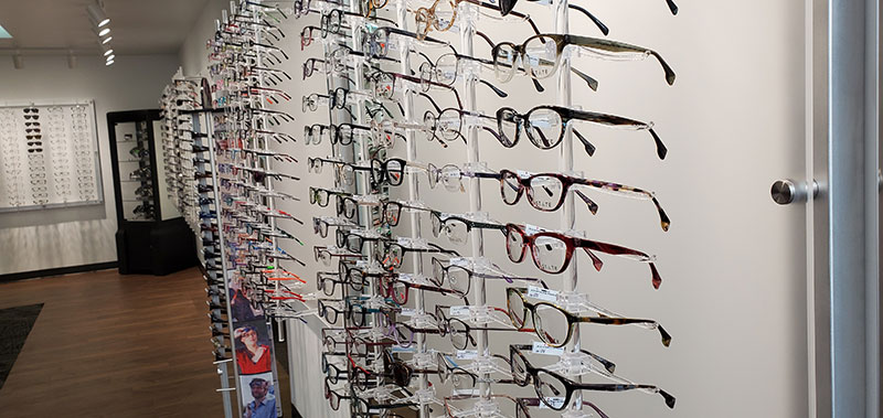 Frames at LAKES Eye Clinic